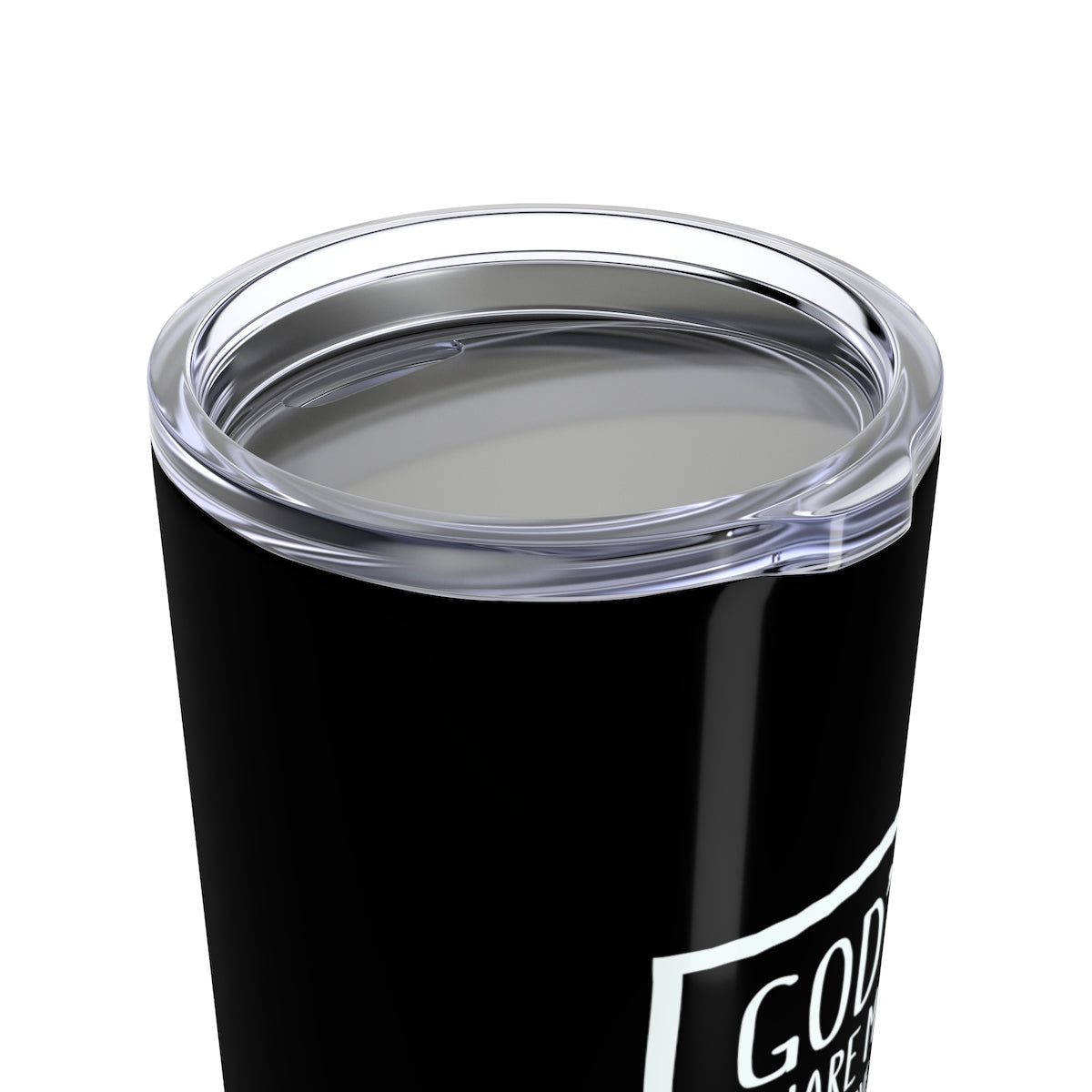 God's Square Mile Tumbler: Black
