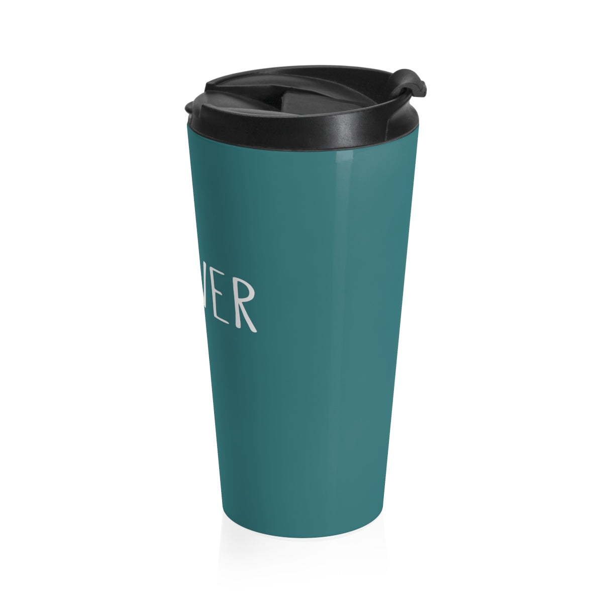 Grover Stainless Steel Travel Mug: Teal