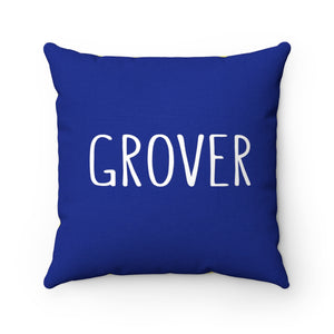 Sean Mills Honorary Grover Pillow