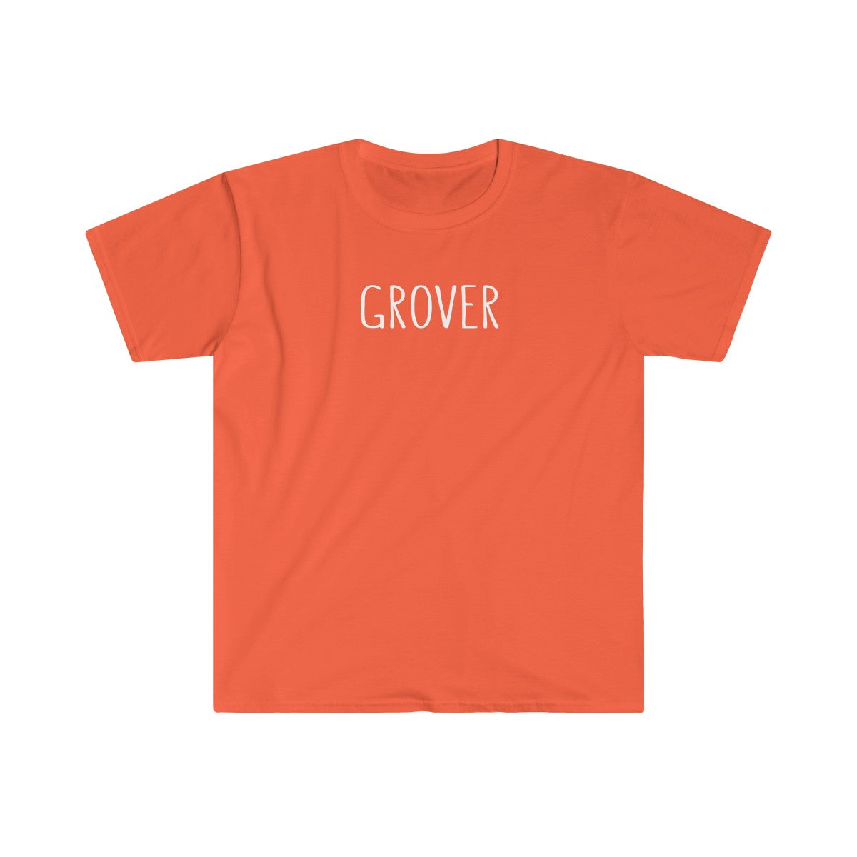 Grover Men's Fitted Short Sleeve Tee