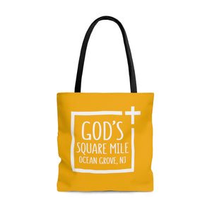 God's Square Mile Tote: Citrus