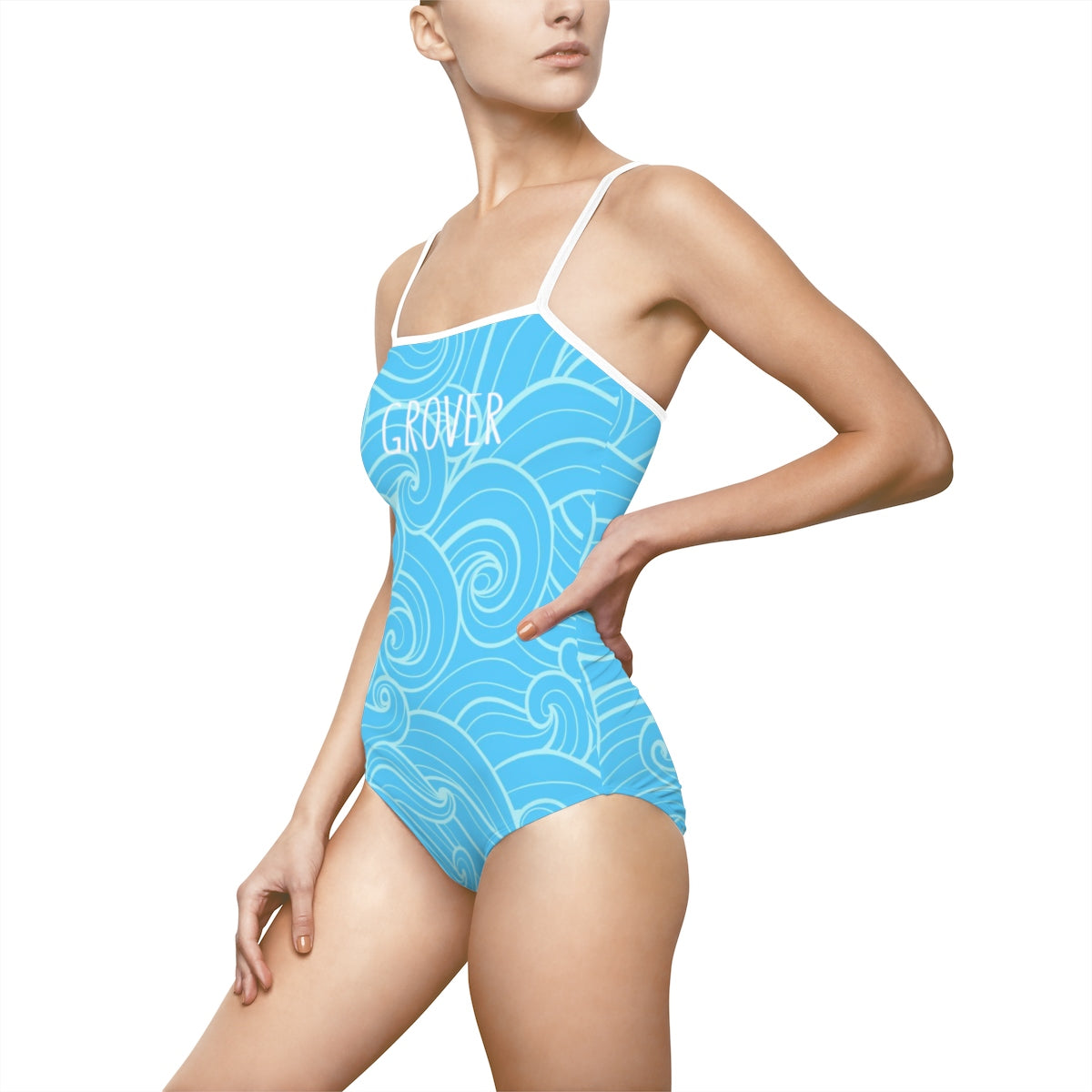 Summer Breeze Grover Ladies One-Piece Bathing Suit