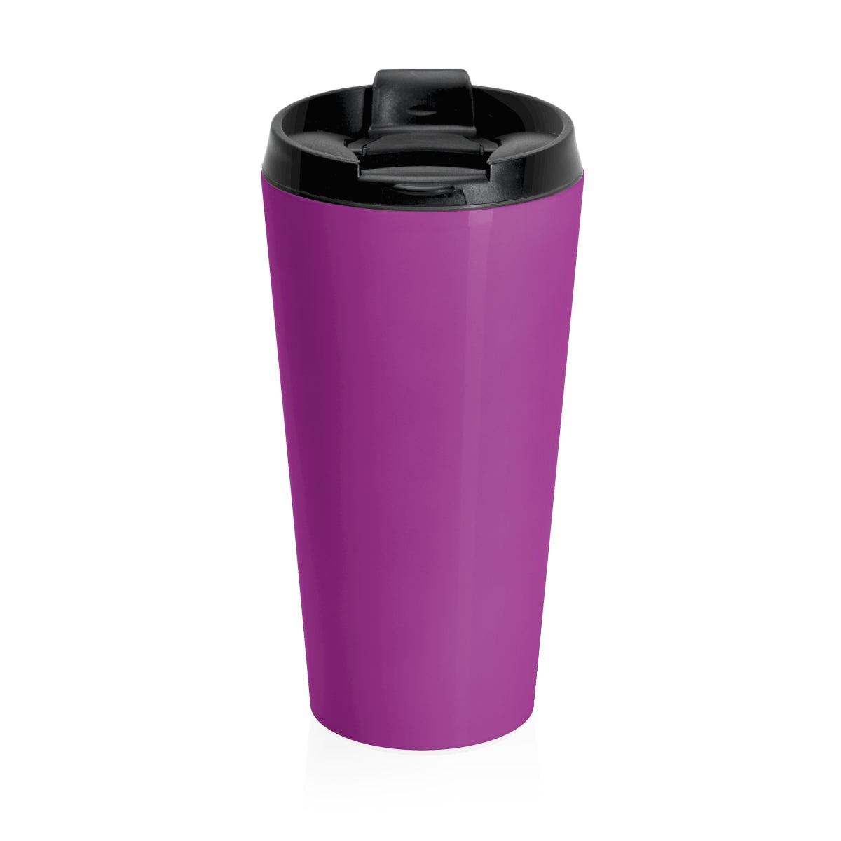Grover Stainless Steel Travel Mug: Purple