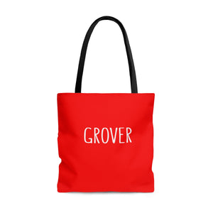 Grover Tote: Red