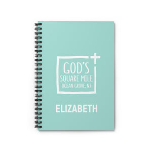 JC God's Square Mile Notebook: Elizabeth