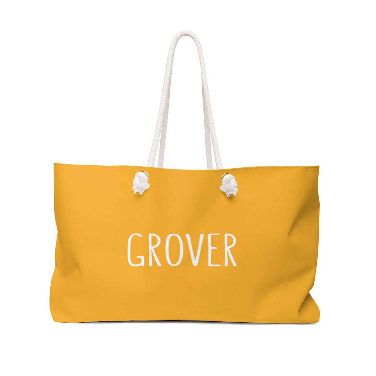 Grover Weekender Bag: Citrus