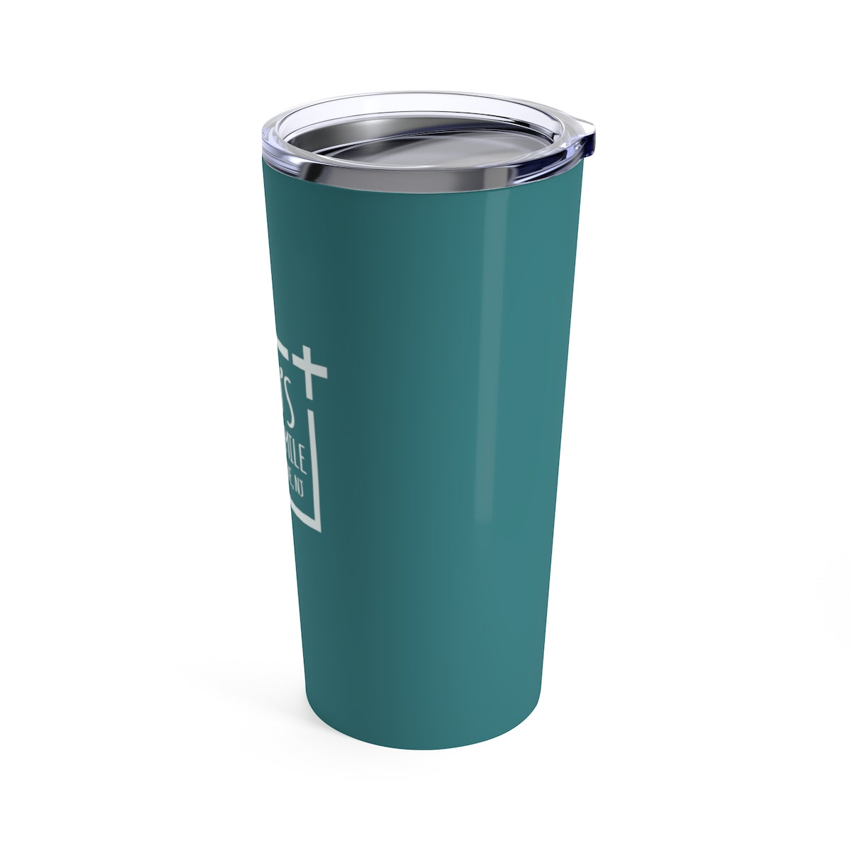 God's Square Mile Tumbler: Teal