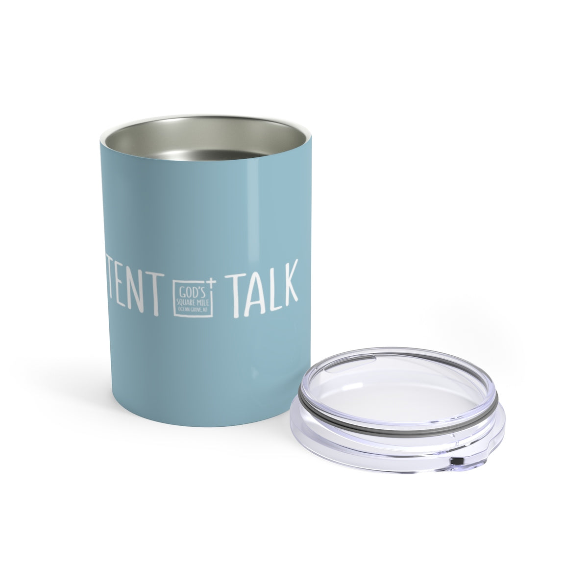Tent Talk Solo Cup: Light Blue