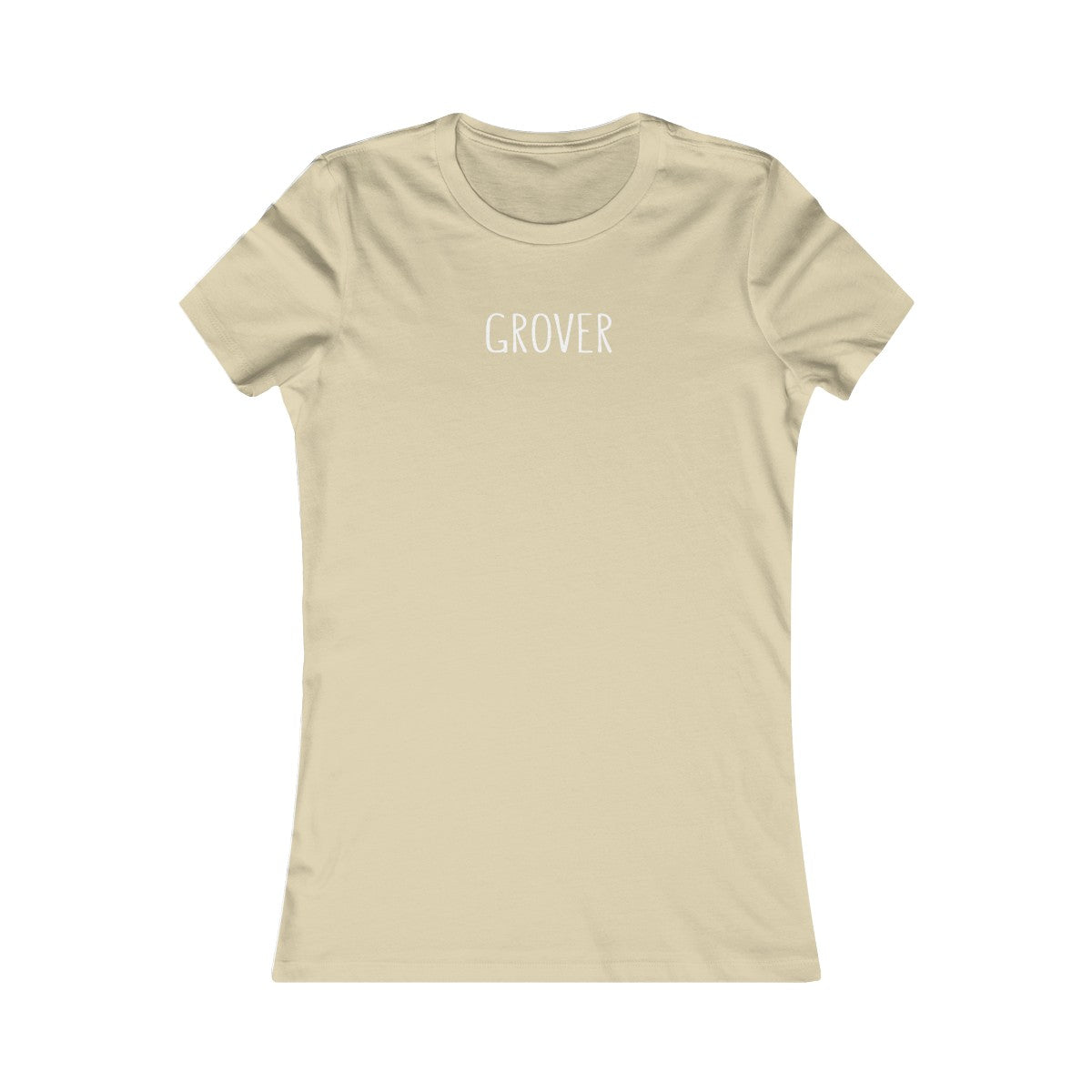 Grover Ladies Fitted Tshirt