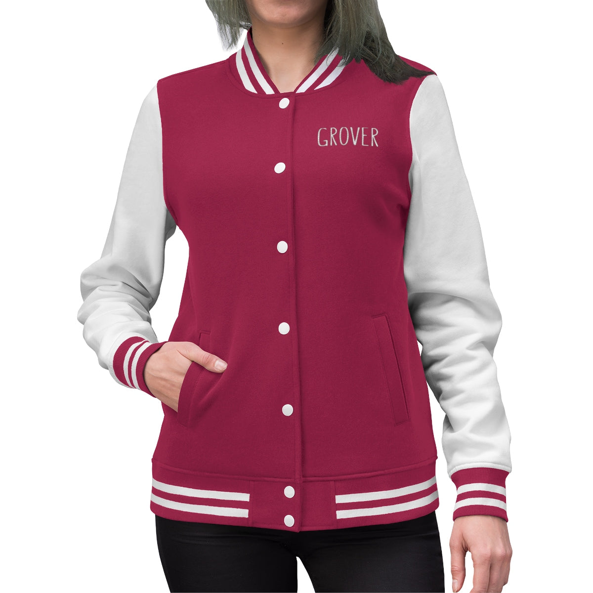 Grover Women's Embroidered Jacket: multiple colors