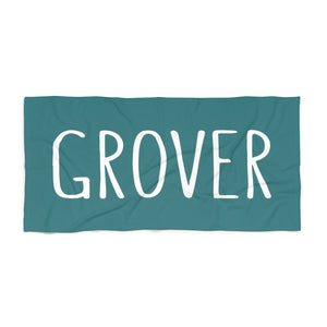 Grover Beach Towel: Teal