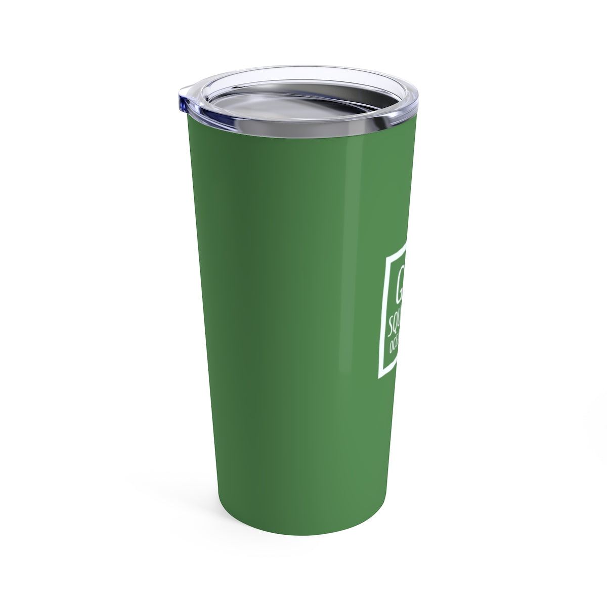 God's Square Mile Tumbler: Green