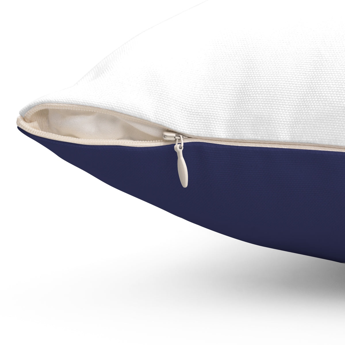 Tent Life Awning Pillow: Faded Blue Denim
