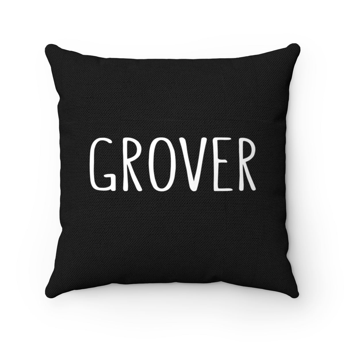 Grover Pillow: Black