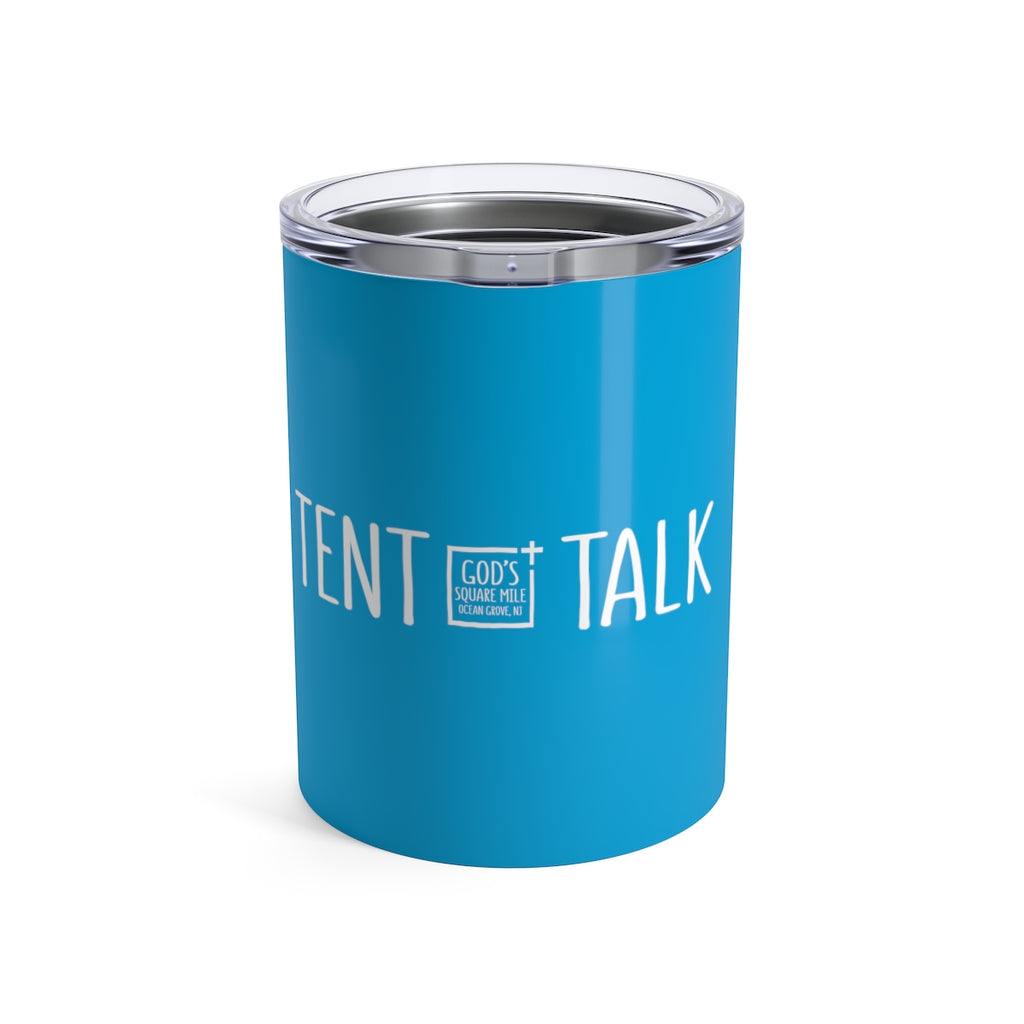 Tent Talk Solo Cup: Bright Blue