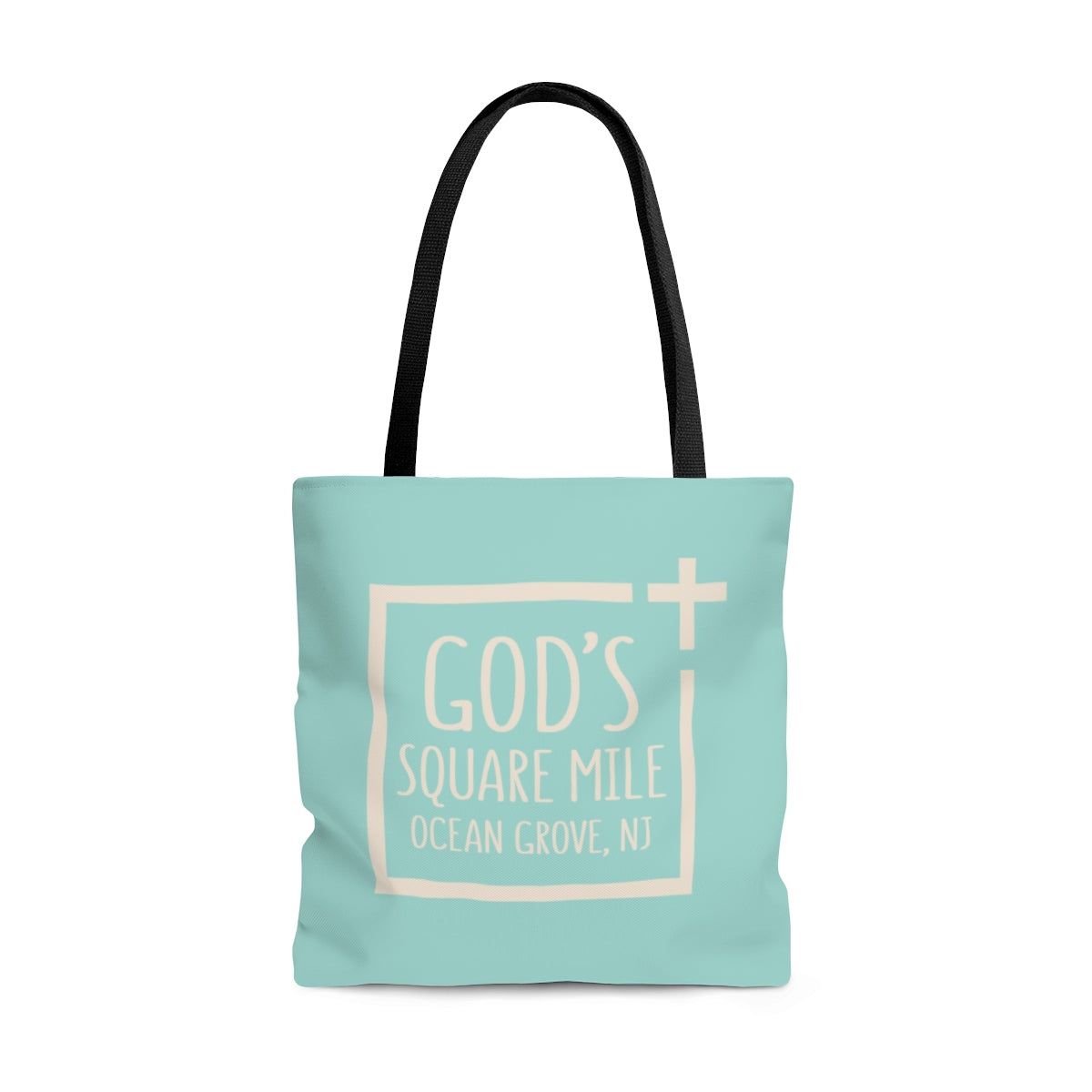 God's Square Mile Tote: SeaScape