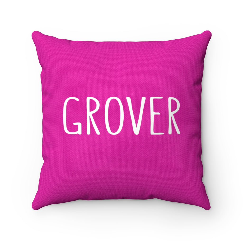 Grover Pillow: Pink