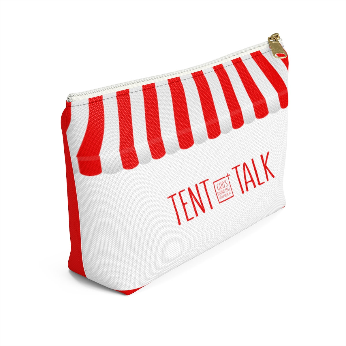 Red Stripe  -  Accessory Bag: Tent Talk - GoGannon Designs