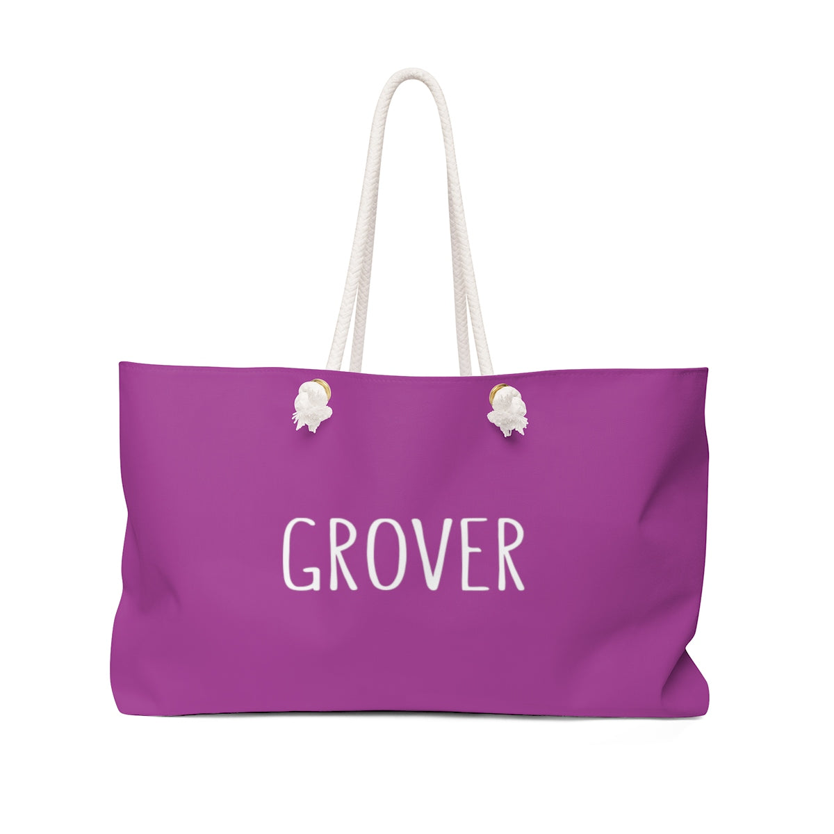 Grover Weekender Bag: Purple
