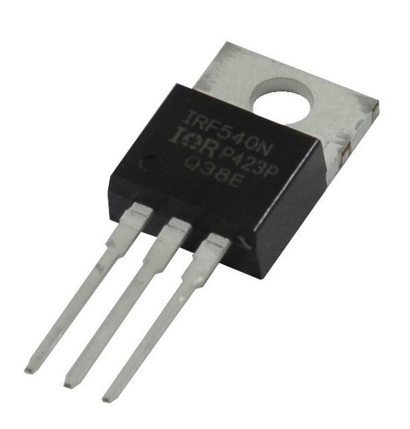 Mosfet IRF540 Transistor Canal N 100V 23A - Arca Electrónica
