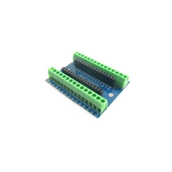 Board De Expansion Arduino Nano I/O Shield V1.0 Con Bornera