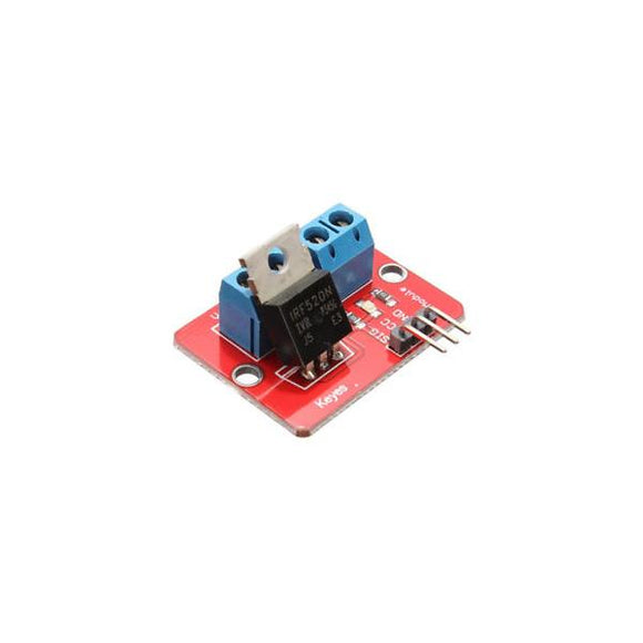 Driver MOSFET IRF520 - Arca Electrónica