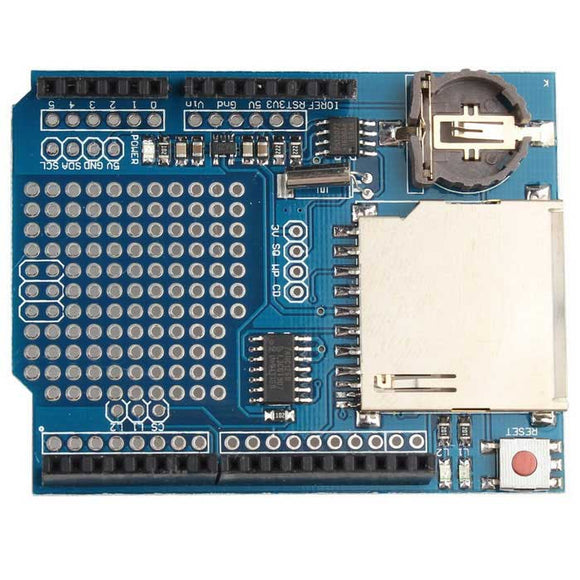 Shield Data Logger Sd Datalogger Para Arduino