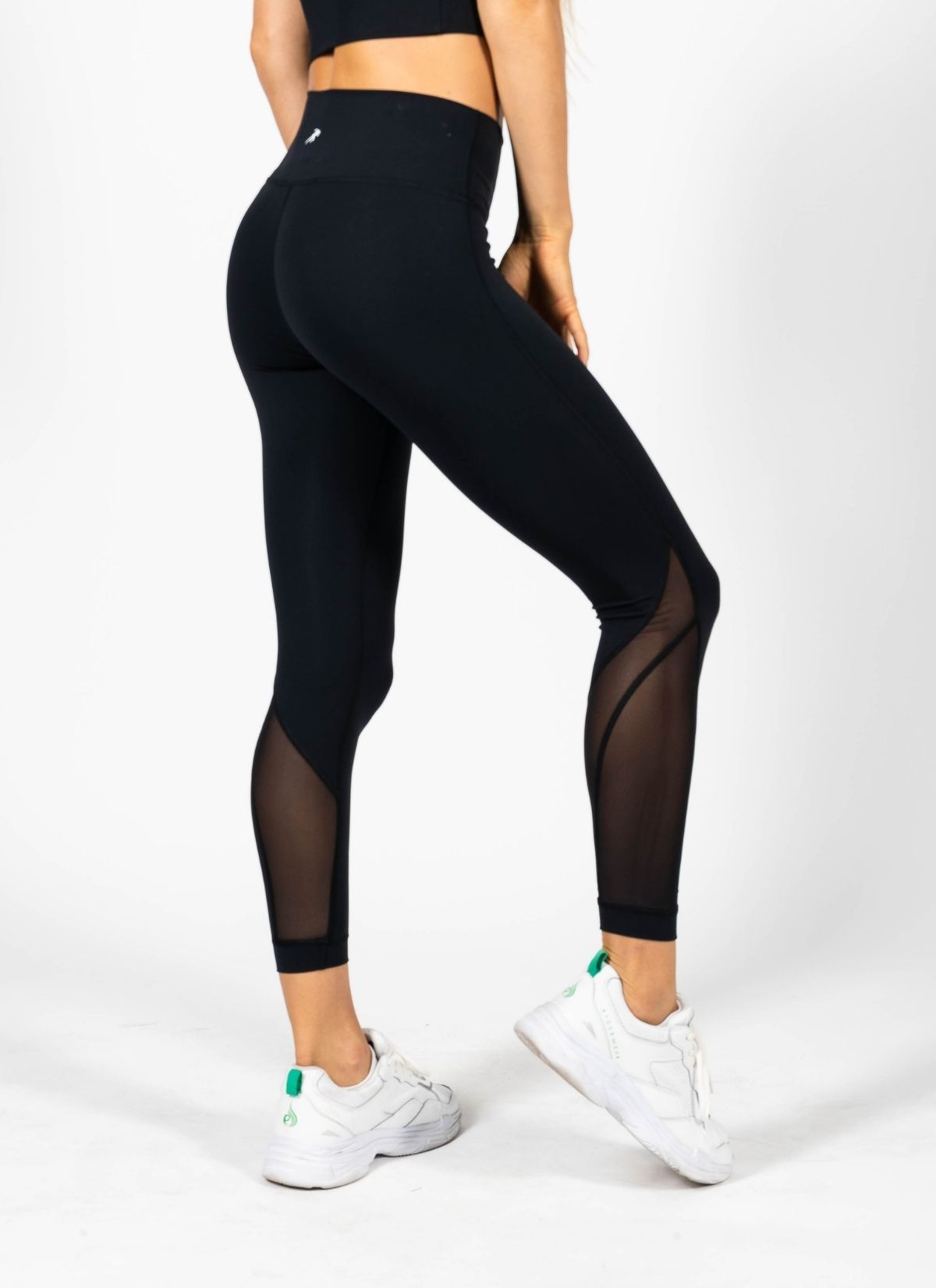 Dynamic Black Leggings
