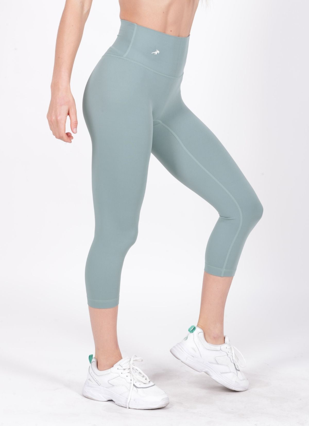 Rise Green Leggings