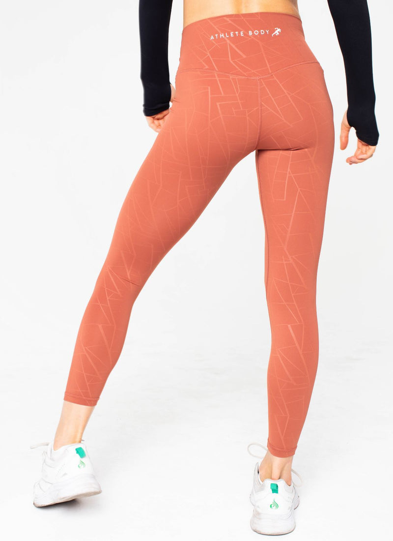 Diamond Seamless Clay Leggings