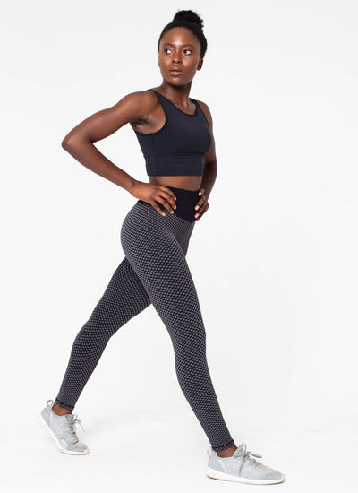 Achieve Black Leggings - Athlete Body