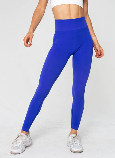 Move Seamless Blue Leggings - Athlete Body