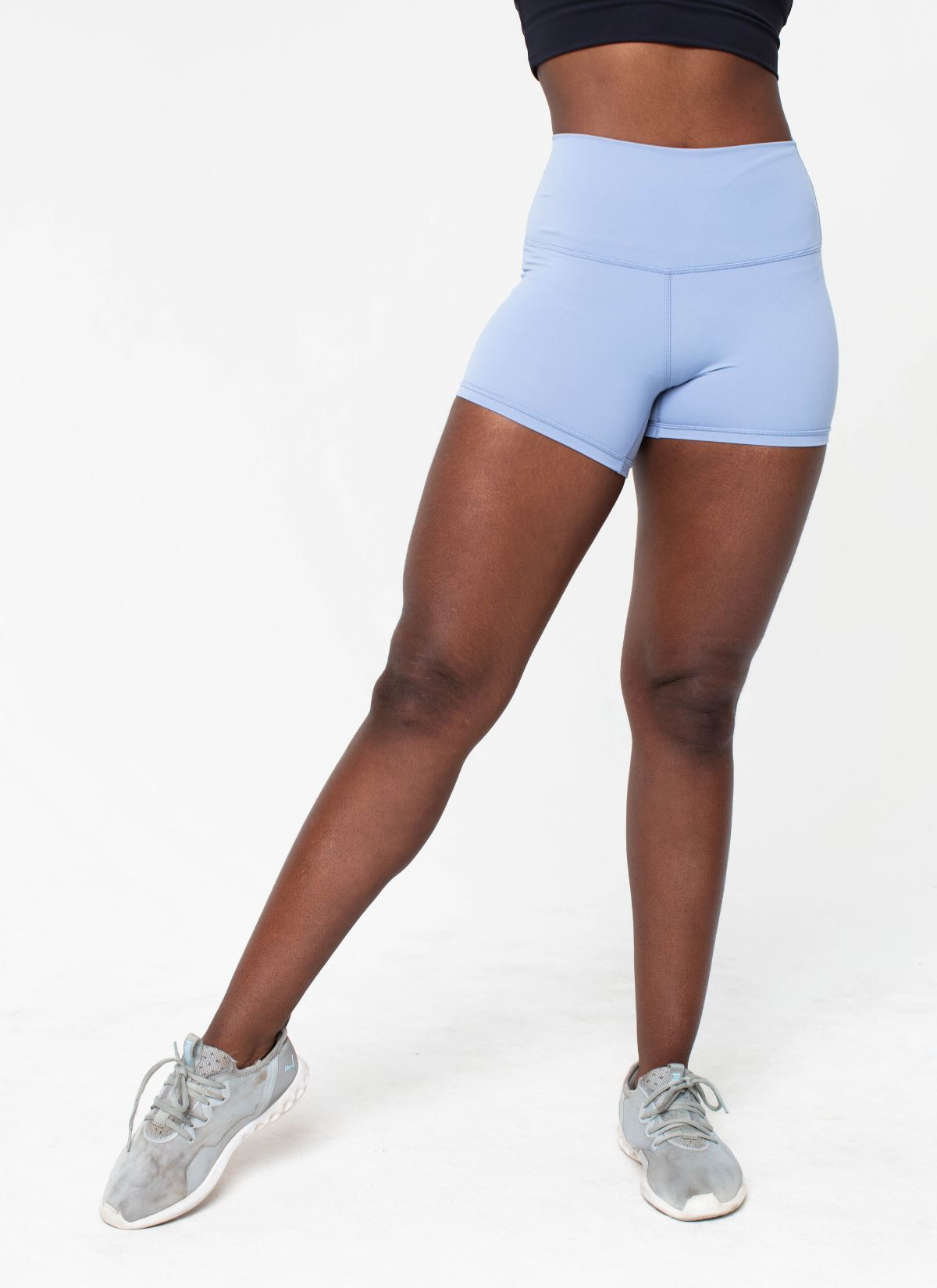 Active Baby Blue Shorts