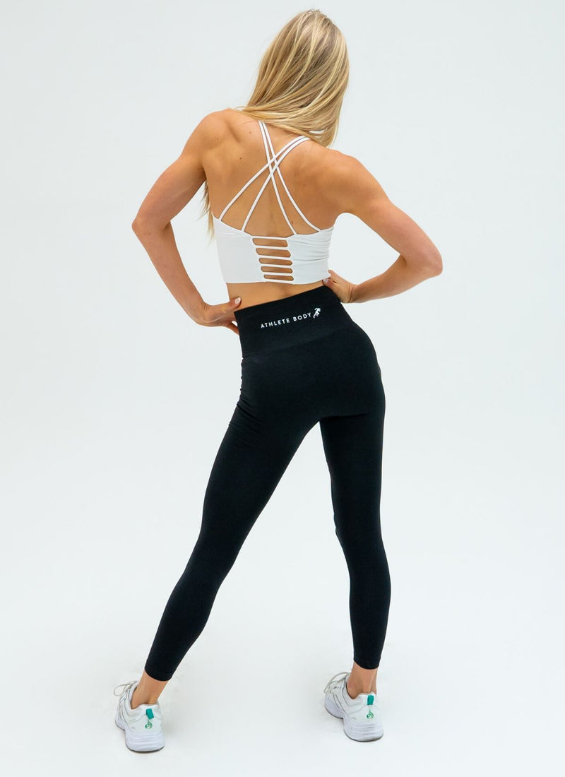 Air Seamless Black Leggings