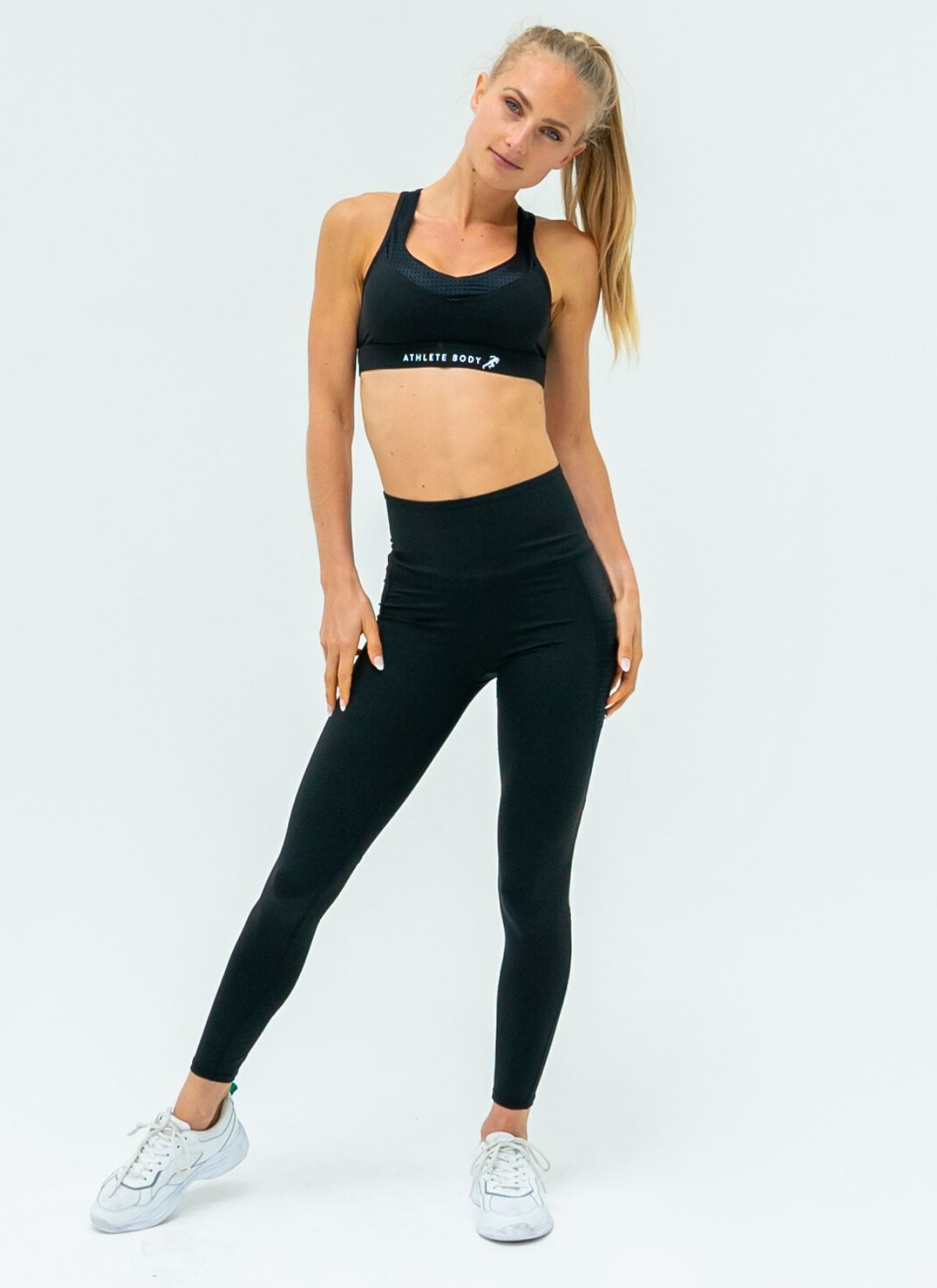 Elevate Black Yoga Set - Athlete Body