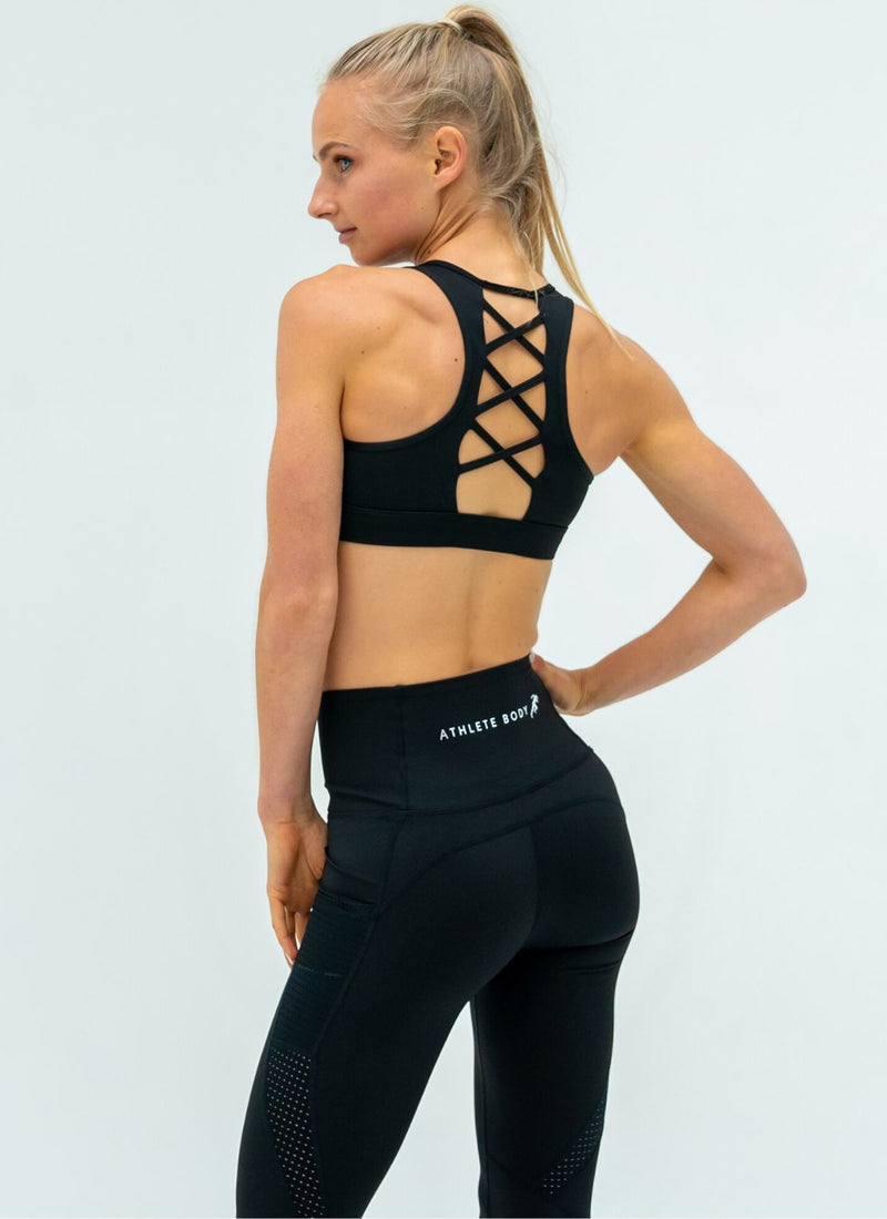 Elevate Black Yoga Set