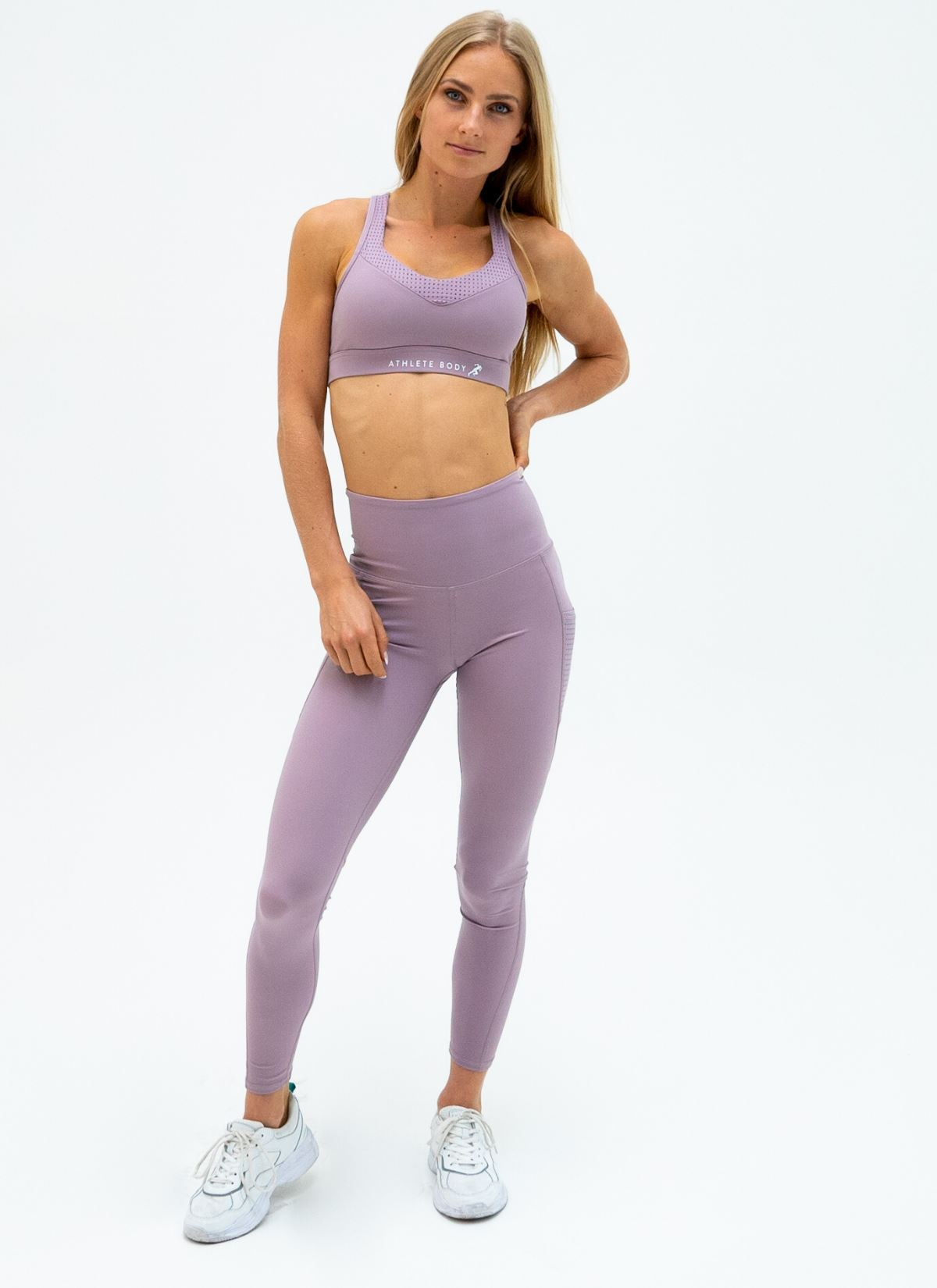 Elevate Purple Yoga Set - Athlete Body