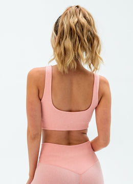 Flex Seamless Pink Yoga Set - Athlete Body