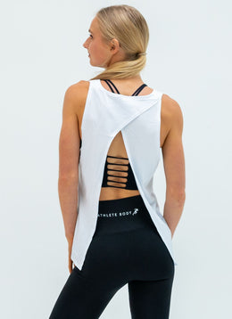 Pinnacle Quick Dry White Top - Athlete Body