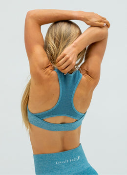 Dream Blue Sports Bra - Athlete Body