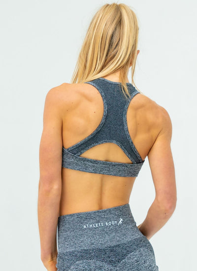 Dream Grey Sports Bra - Athlete Body