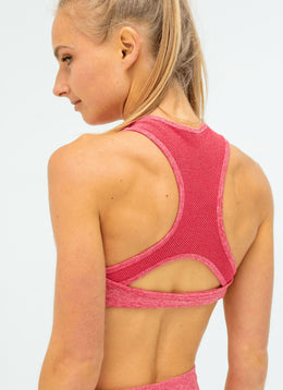 Dream Pink Sports Bra - Athlete Body