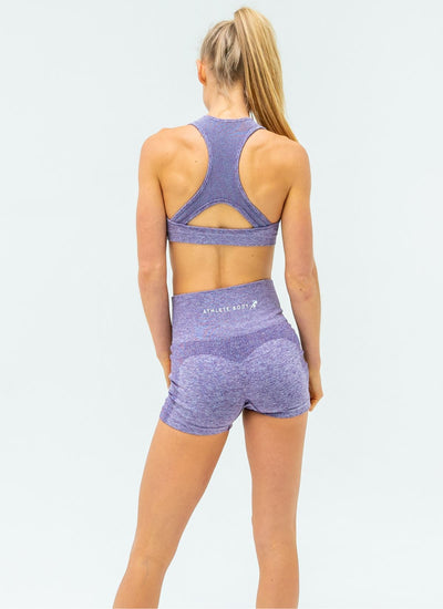 Dream Purple Sports Bra - Athlete Body