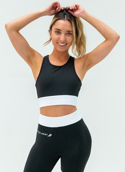 Spark Black Sports Bra - Athlete Body