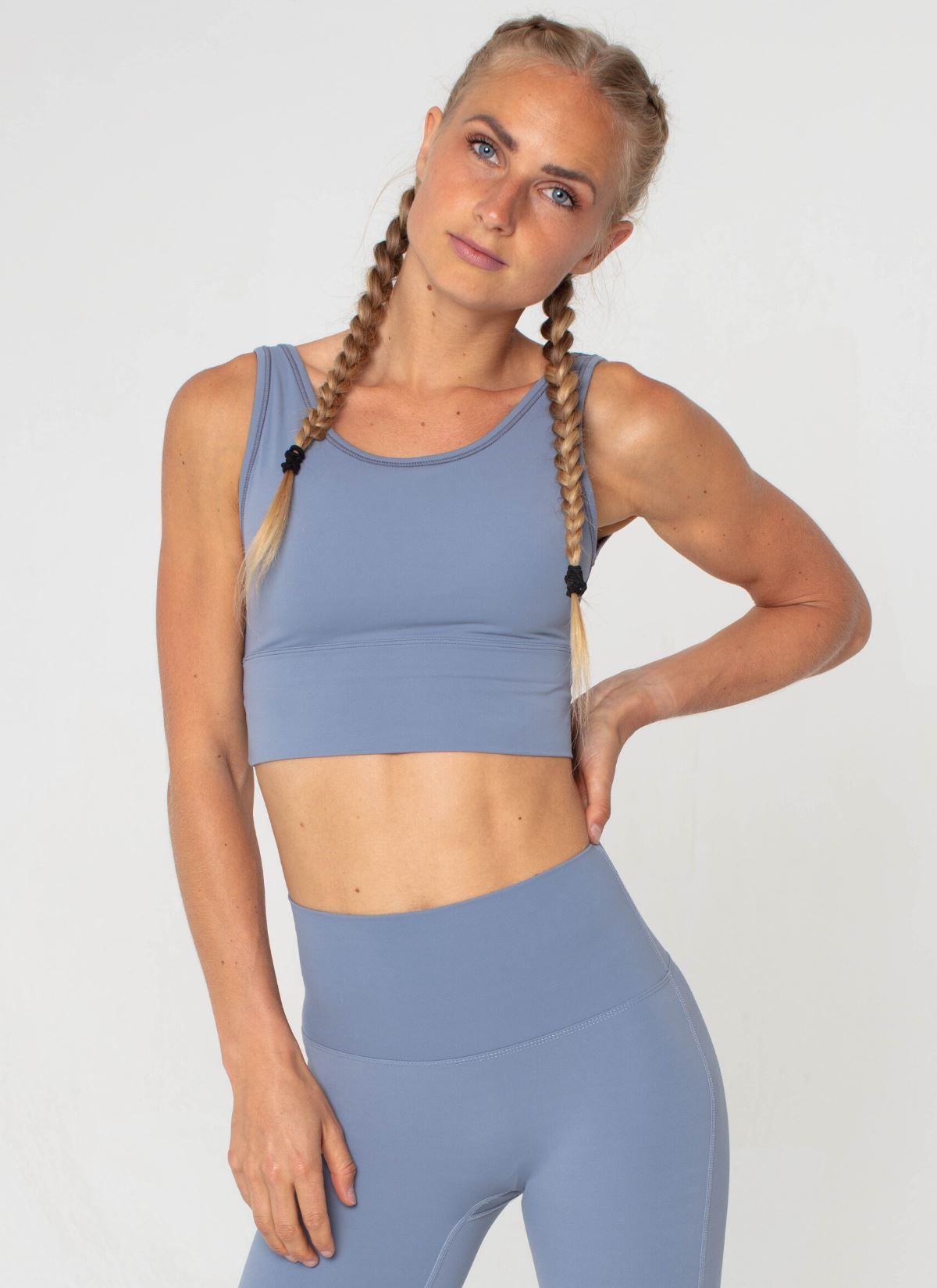 Ascend Baby Blue Top