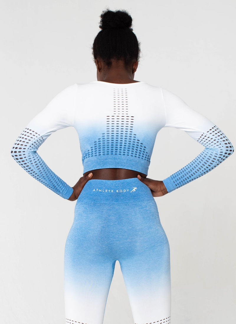Dash Seamless Powder Blue Top