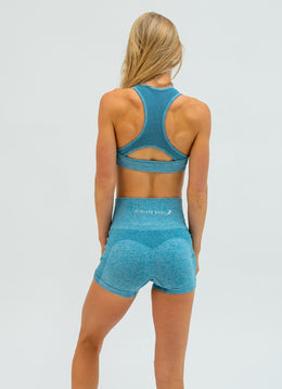 Dream Seamless Blue Yoga Set - Athlete Body