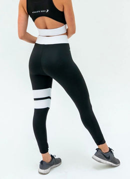 Spark Black Leggings - Athlete Body
