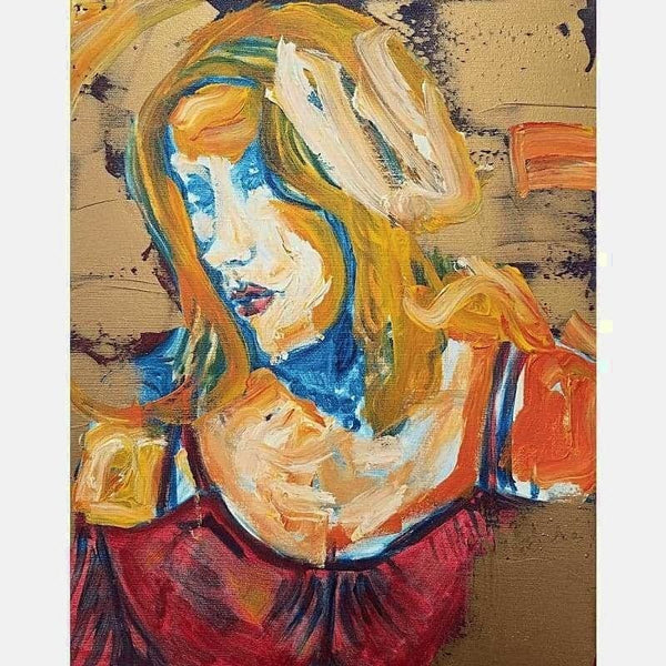 Blonde | Oil on Canvas | Size: 20x16 | No Frame