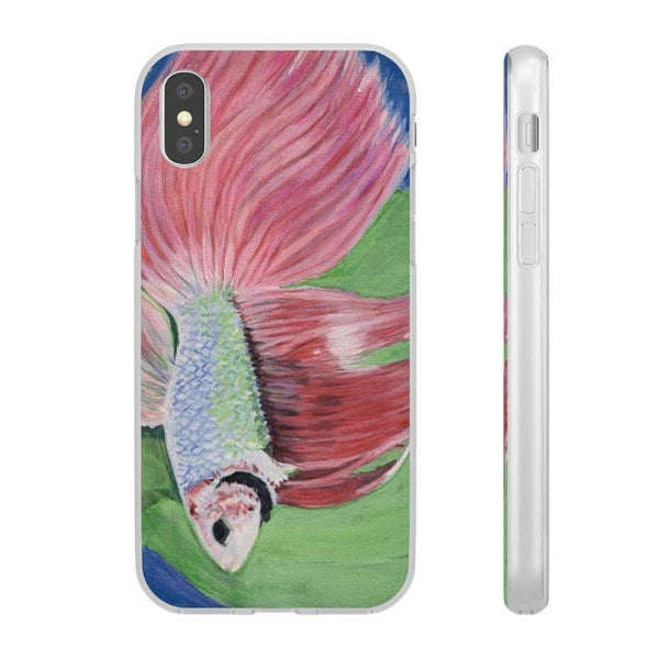 Flexi Cases (Artistic Case by Tobiz Art) - iPhone X - Phone Case